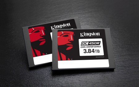 Компания Kingston Digital представила новый SSD-накопитель Kingston DC450R для центров обработки данных