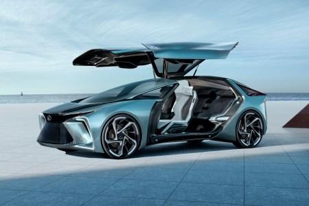 Toyota анонсировала электрический концепт Lexus LF-30 с четырьмя двигателями в колесах суммарной мощностью 400 кВт, батареей на 110 кВтч и запасом хода 500 км