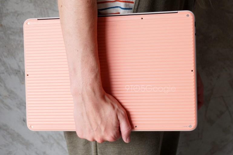 Ноутбук Google Pixelbook Go с необычной текстурой корпуса засветился на живых фотографиях