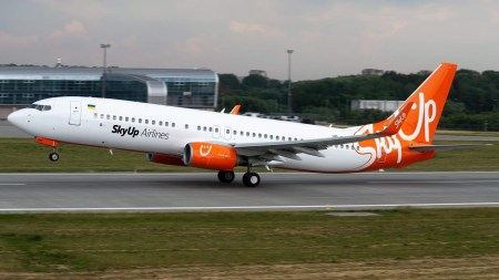 SkyUp впервые обошел МАУ в сентябрьском рейтинге пунктуальности авиакомпаний