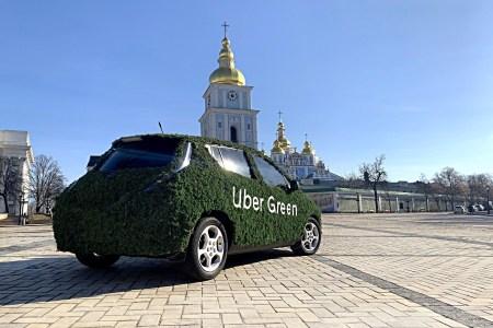 Электромобили на платформе Uber Green проехали более 8 млн километров в Киеве (самая длинная поездка превысила 100 км)