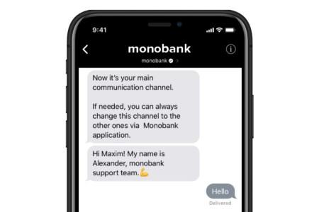 В Украине заработал Apple Business Chat, позволяющий бизнесу общаться с клиентами через iMessage. Первым к нему подключился monobank