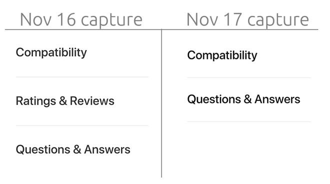 Apple удалила раздел с пользовательскими отзывами к своим продуктам с официального сайта