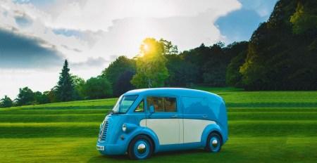 Необычный электрический ретро-фургон Morris JE возрождает марку Morris