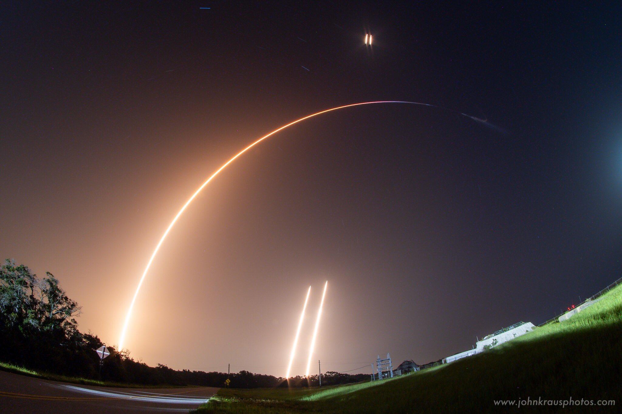 Полет наорбиту «глазами» ракеты SpaceX