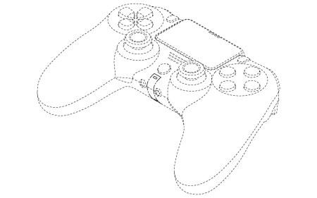 Патентные изображения дают представление о дизайне нового геймпада Sony PlayStation 5 - ITC.ua