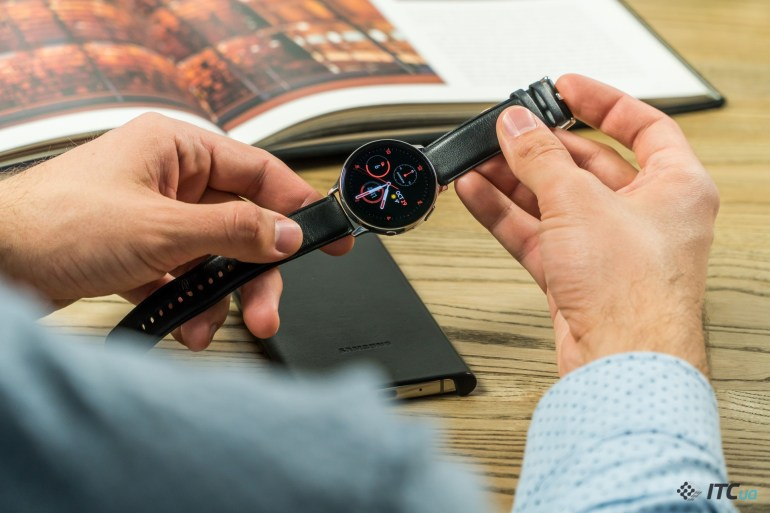 Galaxy Watch Active2 дизайн