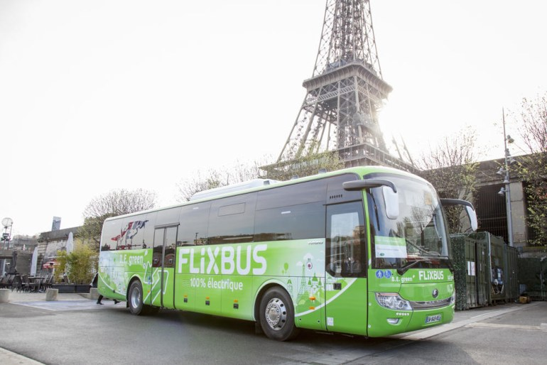 """Автобусный лоукостер Flixbus откроет первый в Украине """"зеленый"""" маршрут"""