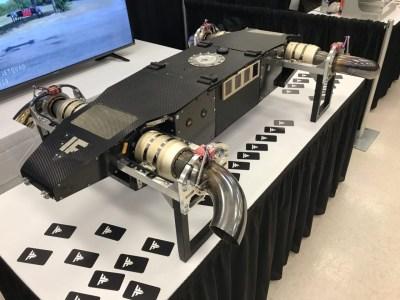 Стартап FusionFlight разработал «самый мощный турбореактивный дрон»