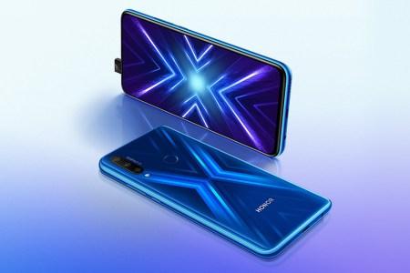В Украине стартуют продажи 6,59-дюймового безрамочного смартфона Honor 9X с тройной основной камерой 48+8+2 Мп по цене 6999 грн