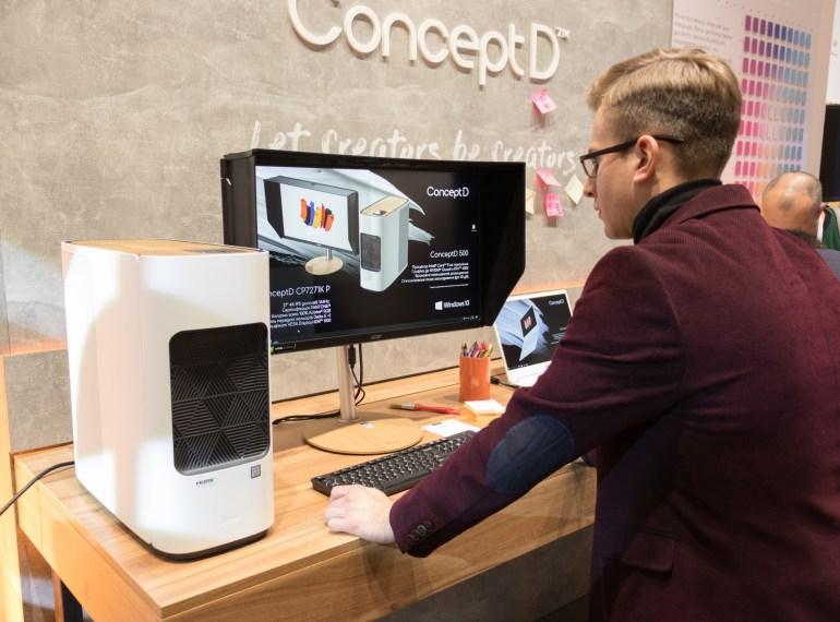 Acer представила в Украине ConceptD – ПК, ноутбуки и мониторы для графики и дизайна