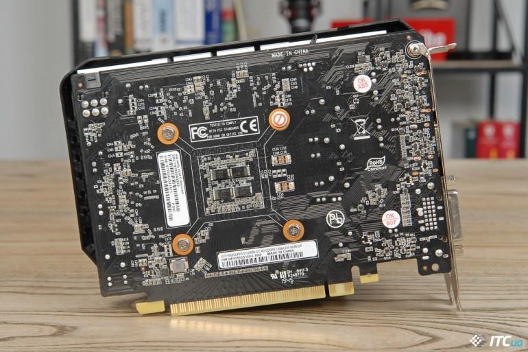 Palit GeForce GTX 1650 SUPER StormX OC PCB
