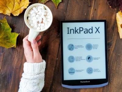 PocketBook представил два новых ридера: 10,3-дюймовый PocketBook InkPad X с поддержкой аудио и водозащищенный 7,8-дюймовый PocketBook InkPad 3 Pro
