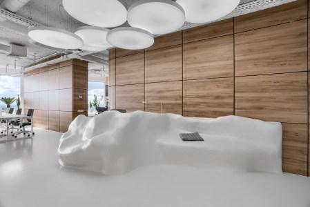 Офис Sky Floor. Технология или искусство?