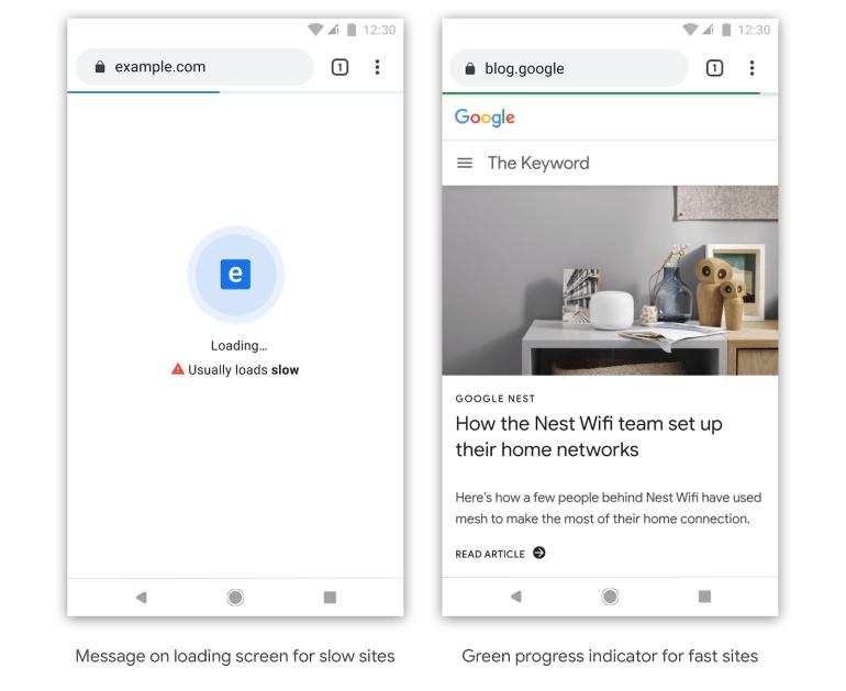 Google хочет ускорить интернет. В будущем браузер Chrome может начать клеймить медленные сайты