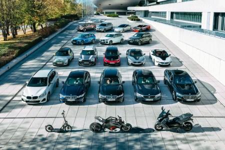BMW уже продал 500 тыс. электрифицированных автомобилей и собирается достичь отметки 1 млн штук к концу 2021 года