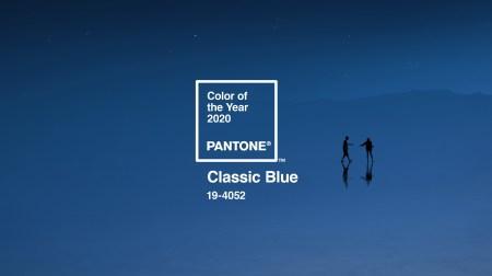 Институт цвета Pantone назвал главным цветом 2020 года «классический синий»