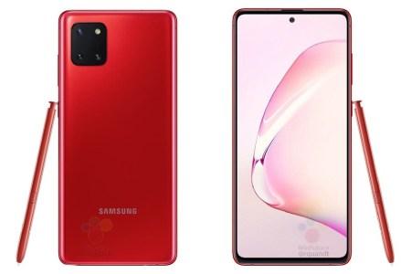 Стали известны подробные характеристики и цены смартфона Samsung Galaxy Note10 Lite