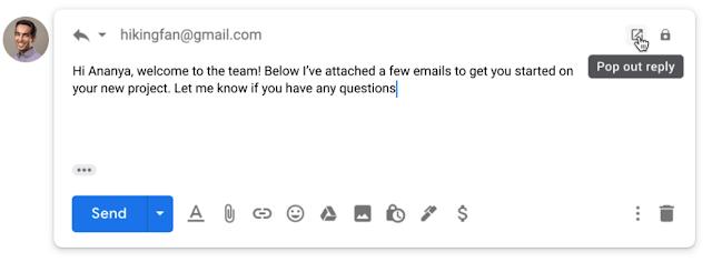 Gmail позволит прикреплять к электронным письмам... электронные письма