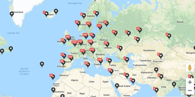 12 полезных картографических сервисов