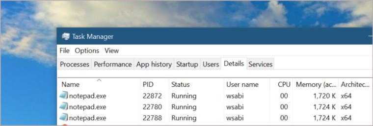 Windows 10 получит улучшенный Менеджер задач