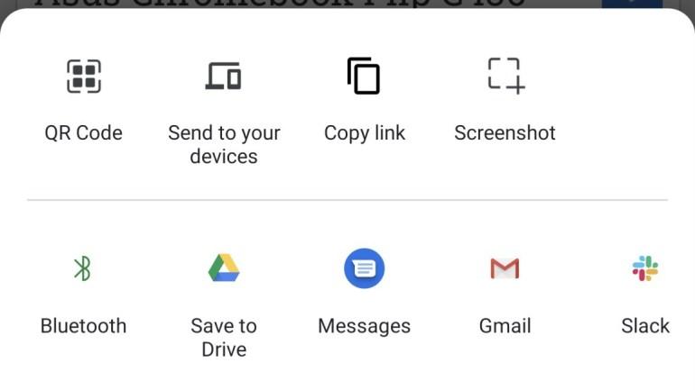 Google тестирует новый интерфейс меню «Поделиться» в Chrome – с инструментами для создания QR-кодов и скриншотов