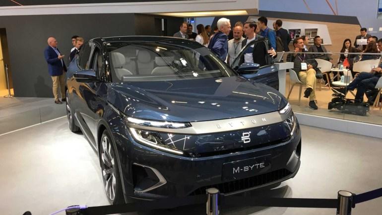 Стартап Byton пообещал выпустить электрокроссовер M-Byte в Китае до конца этого года
