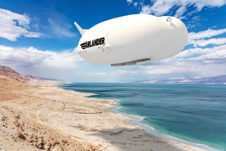 Hybrid Air Vehicles заявила о завершении разработки напоминающего дирижабль гибридного летательного аппарата Airlander 10