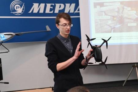 «Укроборонпром» представил первый отечественный разведывательный квадрокоптер для военных «Берегиня» [видео]