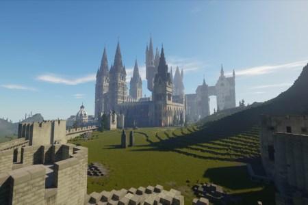 Фанаты создали игру о Гарри Поттере в Minecraft