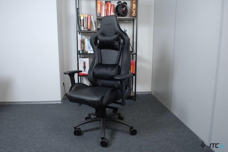 Обзор игрового кресла Hator Apex Alcantara Black