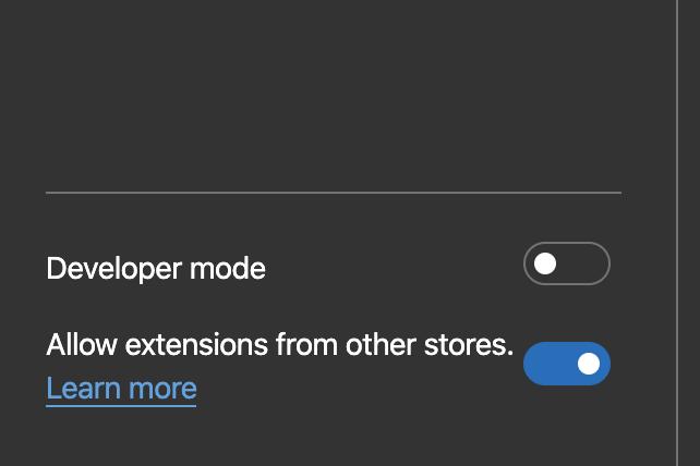 Как в новом браузере Microsoft Edge установить расширения для Google Chrome