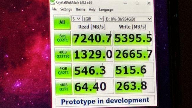 Adata показала SSD XPG Sage, достигающий скорость чтения 7000 МБ/с и 1 млн IOPS