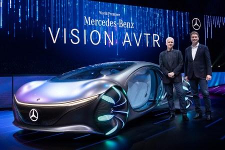 На CES 2020 представили концепт автономного электромобиля-рептилии Mercedes-Benz VISION AVTR, вдохновленного киновселенной «Аватар» Джеймса Кэмерона