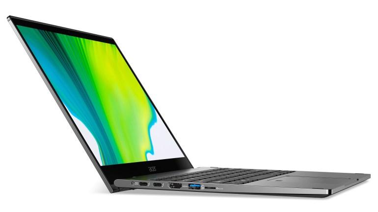Acer обновила линейку трансформирующихся ноутбуков Spin процессорами Intel 10-го поколения