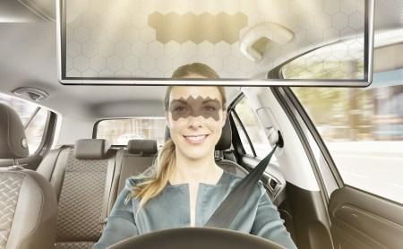 Bosch показала прототип «умного» солнцезащитного козырька для автомобилей
