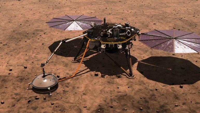 Аппарат NASA InSight зафиксировал более 450 марсотрясений