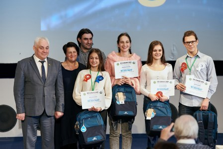 На конкурсе «Эко-Техно Украина» выбрали пять молодых ученых, которые представят страну в финале международного конкурса ISEF в США