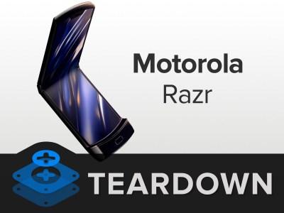 iFixit: Motorola Razr – одно из самых сложных устройств, которые приходилось разбирать