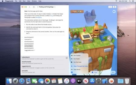 Бесплатное iOS-приложение Swift Playgrounds для изучения программирования стало доступно для платформы Mac