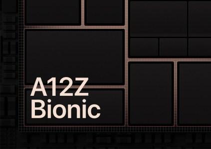 Процессор Apple A12Z Bionic является переименованной версией A12X Bionic с активированным дополнительным ядром GPU