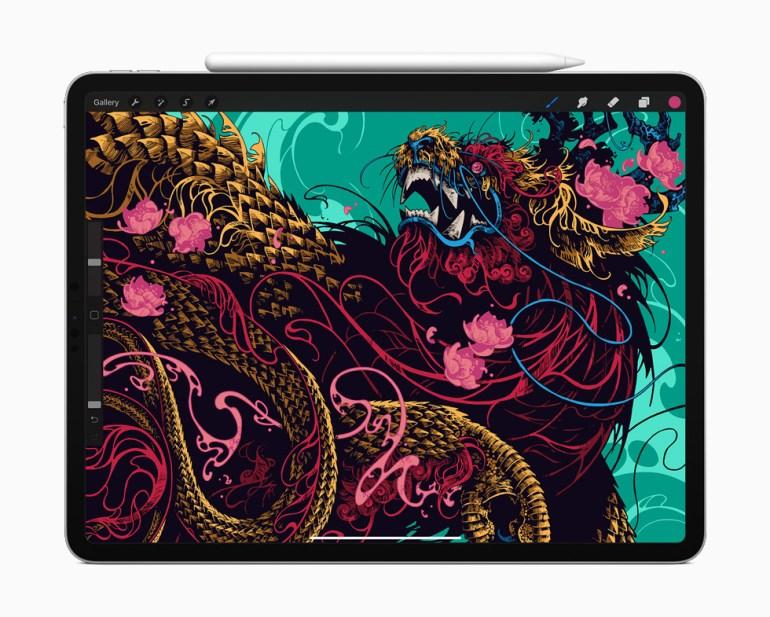 Анонсирован новый планшет Apple iPad Pro с мощным процессором A12Z Bionic, сенсором LIDAR и поддержкой трекпада
