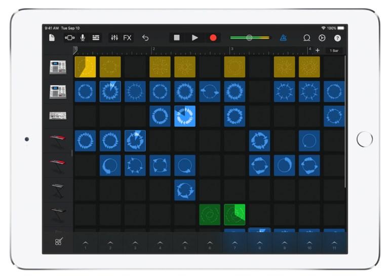 В профессиональной настольной программе для редактирования музыки Apple Logic Pro X появятся функции из мобильного приложения GarageBand