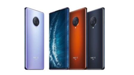 Представлен флагманский смартфон Vivo NEX 3S 5G. SoC Snapdragon 865, экран-водопад, тройная 64-Мп камера, много памяти (LPDDR5, UFS 3.1) и зарядка на 44 Вт