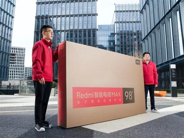 Анонсирован крупный умный телевизор Redmi Smart TV Max 98 по цене $2825, предусматривающий специальную услугу доставки и установки