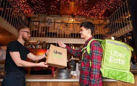 Uber Eats наконец расширил зону доставки в Киеве на Троещину и Воскресенку