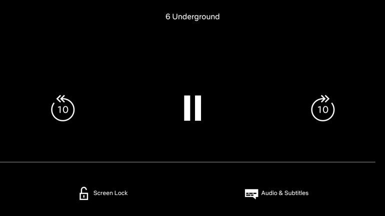 В Netflix для Android появилась функция Screen Lock для предотвращения нежелательных действий из-за случайных нажатий