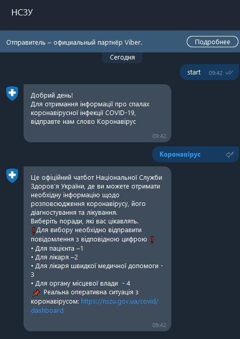 Национальная служба здоровья Украины запустила интерактивный сервис с инструкциями для врачей и пациентов по COVID-19