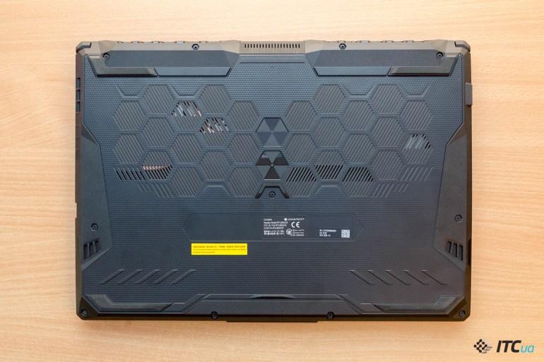 Обзор игрового ноутбука ASUS TUF Gaming A15