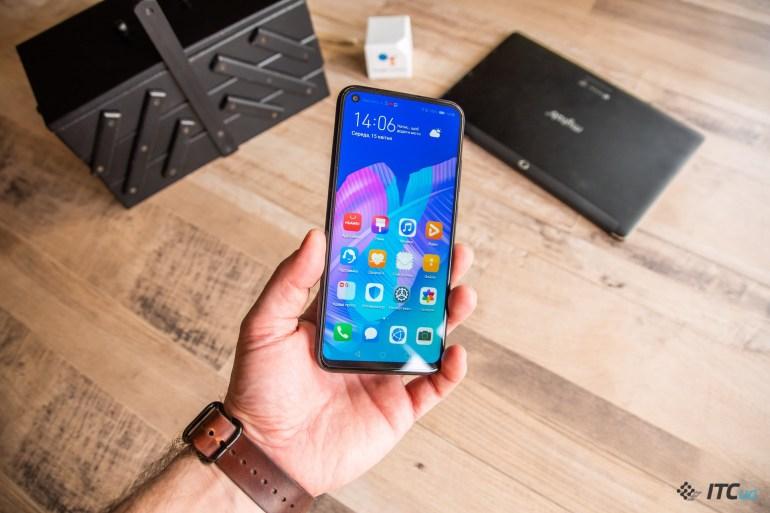 Обзор смартфона Huawei P40 Lite E